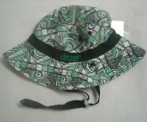 Dozer Boys Floppy Grommie Green Reversible Beach Sun Hat UPF 50+ 2-5 ... dea3be970c2