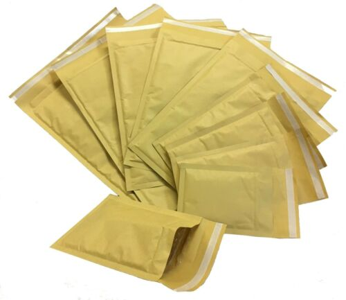 QTY/'S* MP GOLD BUBBLE LINED PADDED ENVELOPES MAILERS BAGS *ALL SIZES