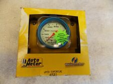 Auto Meter 4531 Water Temperature Gauge 2 58 140 280 Degrees Mechanical