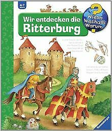 Wieso-Weshalb-Warum-11-Wir-entdecken-die-Ritterburg-Buch-Zustand-gut