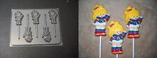 Rainbow Brite Doll Lollipop Chocolate Candy Soap Crayon Mold