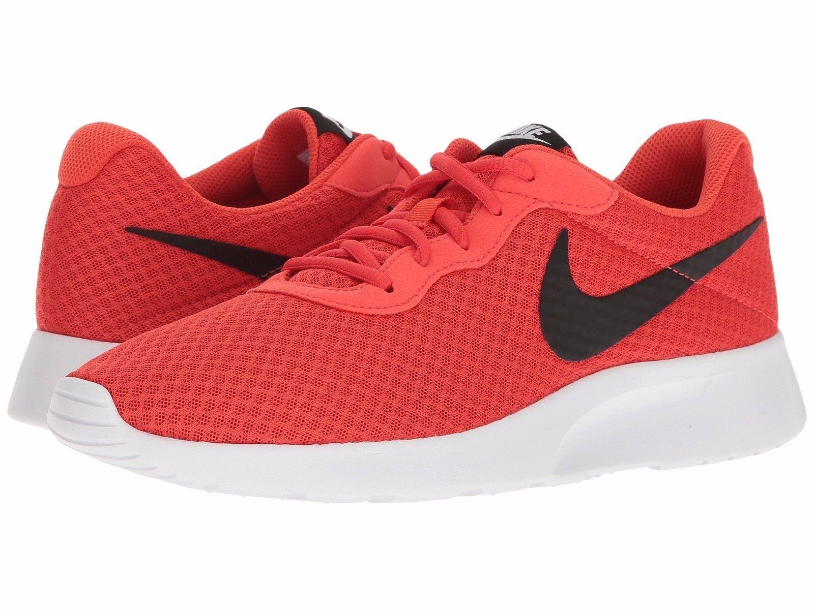 Uomini tanjun scarpe nike max pennino arancione / bianco nero sz - pennino max 812654-800 6b569c