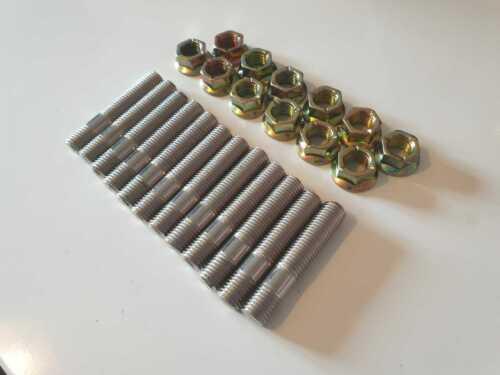 Nissan RB20DET Engine to Exhaust Manifold Stud Kit + Nuts, SKYLINE,R32,R33,R34