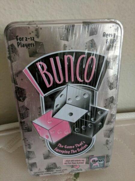 CARDINAL INDUSTRIES Bunco Social Dice Game Complete Set,pink /& black