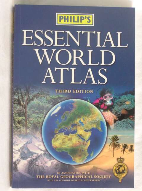 Philip's Compact World Atlas, , Excellent Book