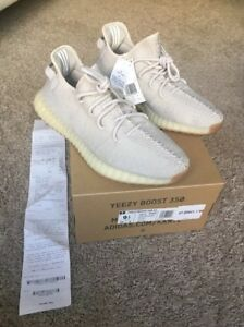 f6925838d9165 Image is loading Adidas-Yeezy-Boost-350-V2-Sesame-Mens-Size-