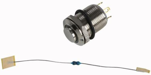 NP 12V A-V SWITCH CONTACT CONFIGURATION FOR RJS ELECTRONICS GREEN LED 12MM