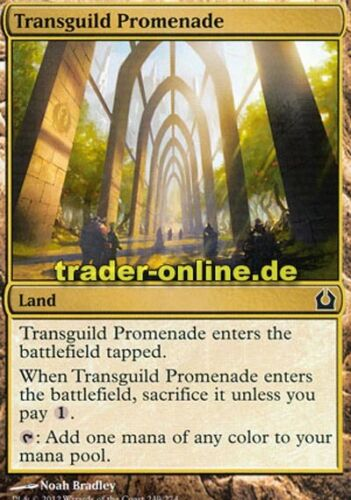 Transguild promenade chemin entre les guildes return to ravnica Magic