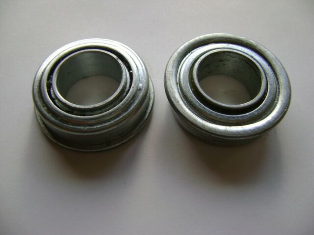 "2 NEW 3//4/"" BORE 35mm OD WHEELBARROW HAND TRUCK FLANGE BEARINGS DR41"