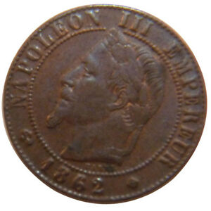 Monnaies-Second-Empire-1-Centime-Napoleon-III-Tete-Lauree-51095