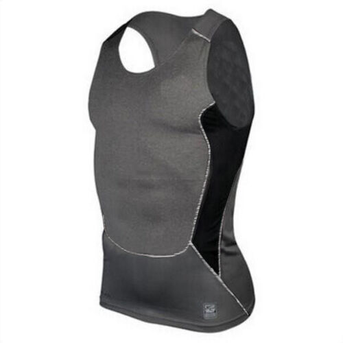 Men Compression Sleeveless T Shirt Tank Vest Under Skinny Fit Gym Tops Singlet