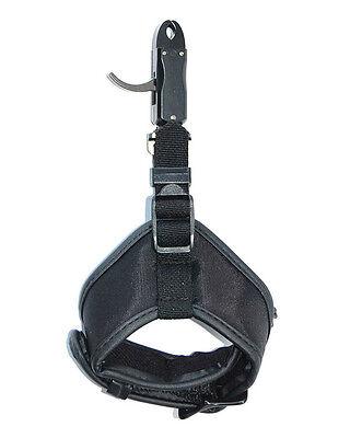 LIVABIT Compound Bow Wrist Trigger Release Aid Strap Caliper For Hunting