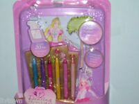 Barbie 12 Dancing Princess Rolling Art Desk Free Shipping Nip