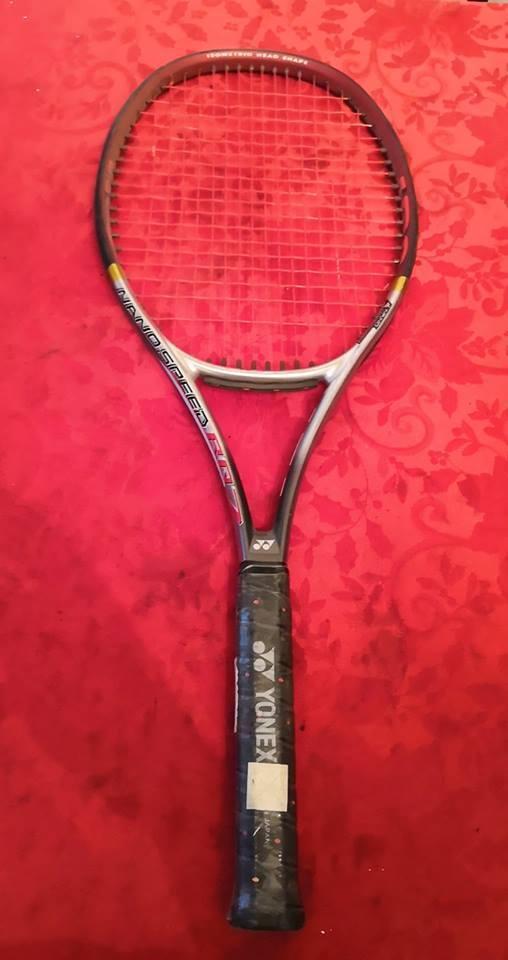 Nuevo Yonex Rq 7 Nano velocidad 100 cabeza 16x18 4 1 2 Grip 285 gramos de tenis raqueta