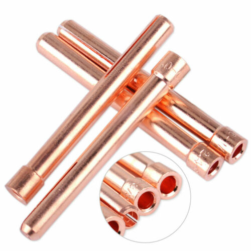 1.0-3.2mm Welding Collet For WP17 18 26 Torch Red Copper Tip Metalworking