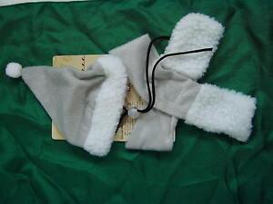 kost m f r katzen hunde weihnachtsschal m tze 2 tlg weihnachtskost m tiere ebay. Black Bedroom Furniture Sets. Home Design Ideas