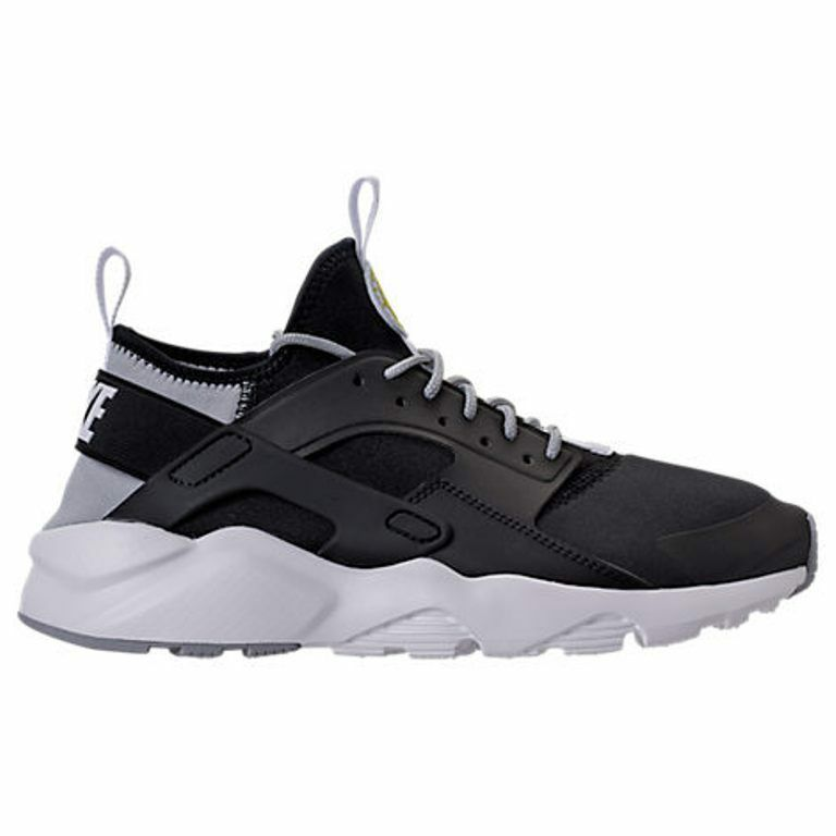 MENS NIKE AIR HUARACHE courir ULTRA noir/Gris CASUAL Taille chaussures homme SELECT YOUR Taille CASUAL c3d816