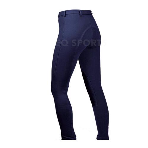 """Free p/&p femmes//femmes équitation jodhpurs taille 36/""""//18 bleu marine extensible//confortable!!!"""