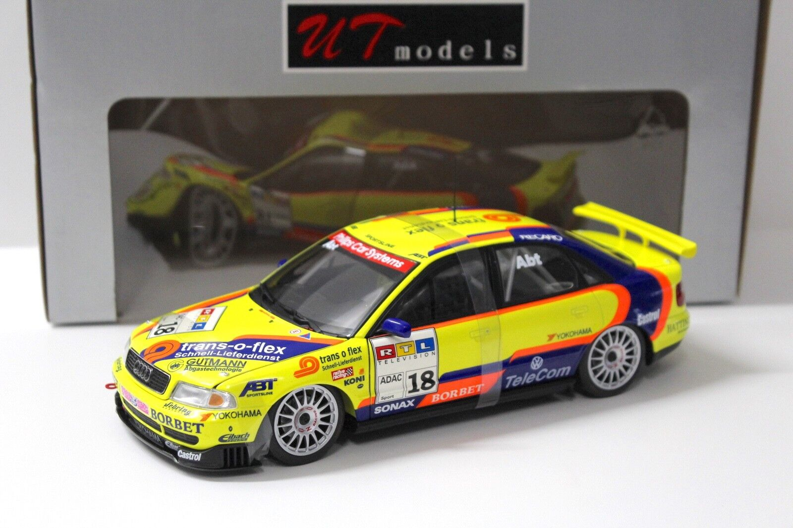 1 18 UT Models Audi A4 STW  18 ABT 1997 NEW bei PREMIUM-MODELCARS