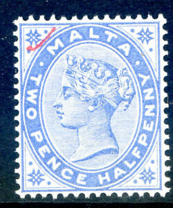Malta-1885-2-d-blue-with-red-tick-top-left-corner-fine-nh-mint-2019-05-29-04
