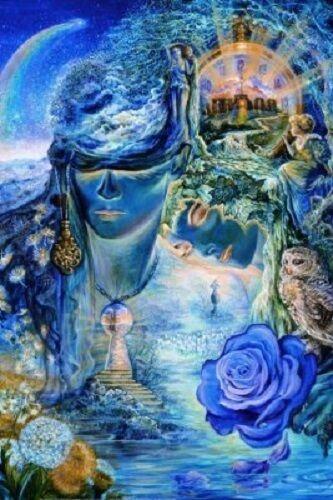 24x36 FANTASY 9516 JOSEPHINE WALL ART POSTER BUBBLE WORLD