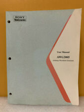 Tektronix 070 8958 02 Awg2005 Arbitrary Waveform Generator User Manual