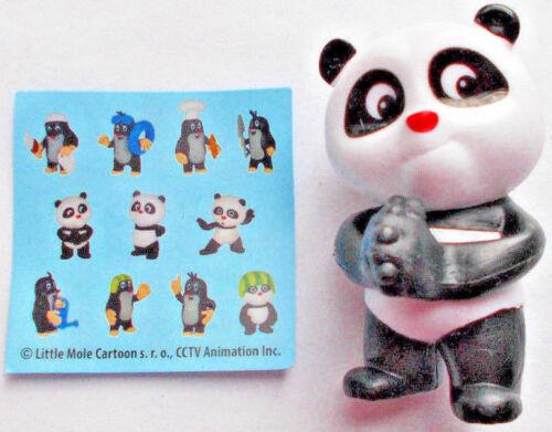 """Panda Hände vorne 5 Dairy 4 Fun Kidsworld /"""" Panda/&Little Mole  /"""" mit BPZ"""
