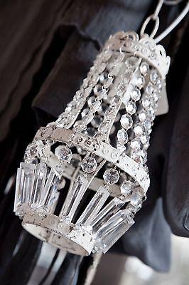 Kronleuchter Chic Antique Leuchter Lampe Hängelampe Lüster Lampe Shabby Chic