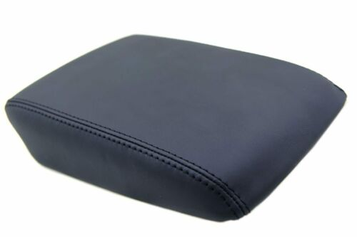 Center Console Armrest Real Leather Cover for Acura TL 04-08 Black