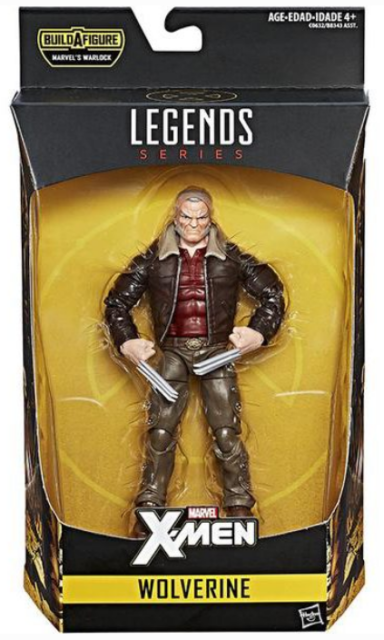 X-Men Marvel Legends 6-Inch Warlock wave Wolverine Action Figure - New in stock