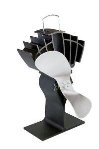 Consciencieux Caframo Limited Ecofan Ultrair, Noir Avec Nickel Lame-afficher Le Titre D'origine