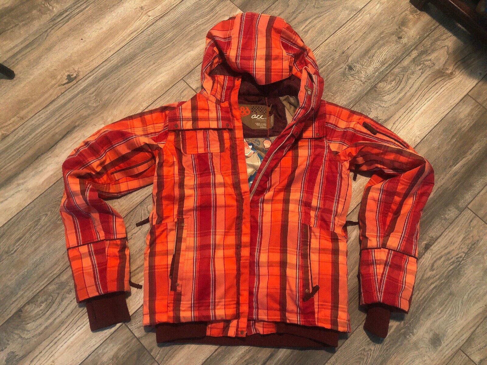 686 damen ACC Caliber Snow Jacket Größe Small New Condition