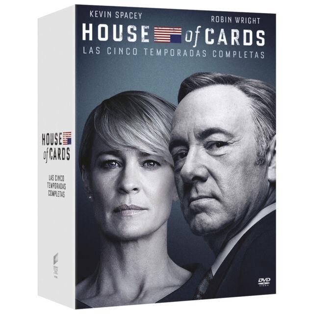 HOUSE OF CARDS. Temporadas 1-5 (DVD) Nuevo Precintado.