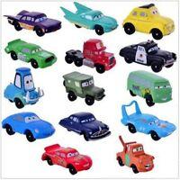 Disney Cars Lightning Mcqueen Playset 14 Figure Cake Topper Usa Seller Toy Set