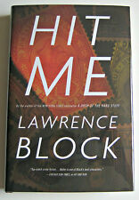LAWRENCE BLOCK Hit Me SIGNED 1st LIMITED PHILATELIC Edition MYLAR DJ Cover