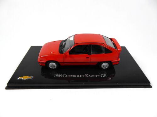Kadett GS 1989-1:43 Voiture Diecast Model Car CH58 Opel Chevrolet