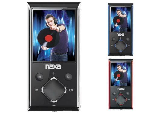 "Voice Recording Naxa NMV-173N 1.8/"" LCD Portable 4GB MP3//MP4 Player FM Radio"