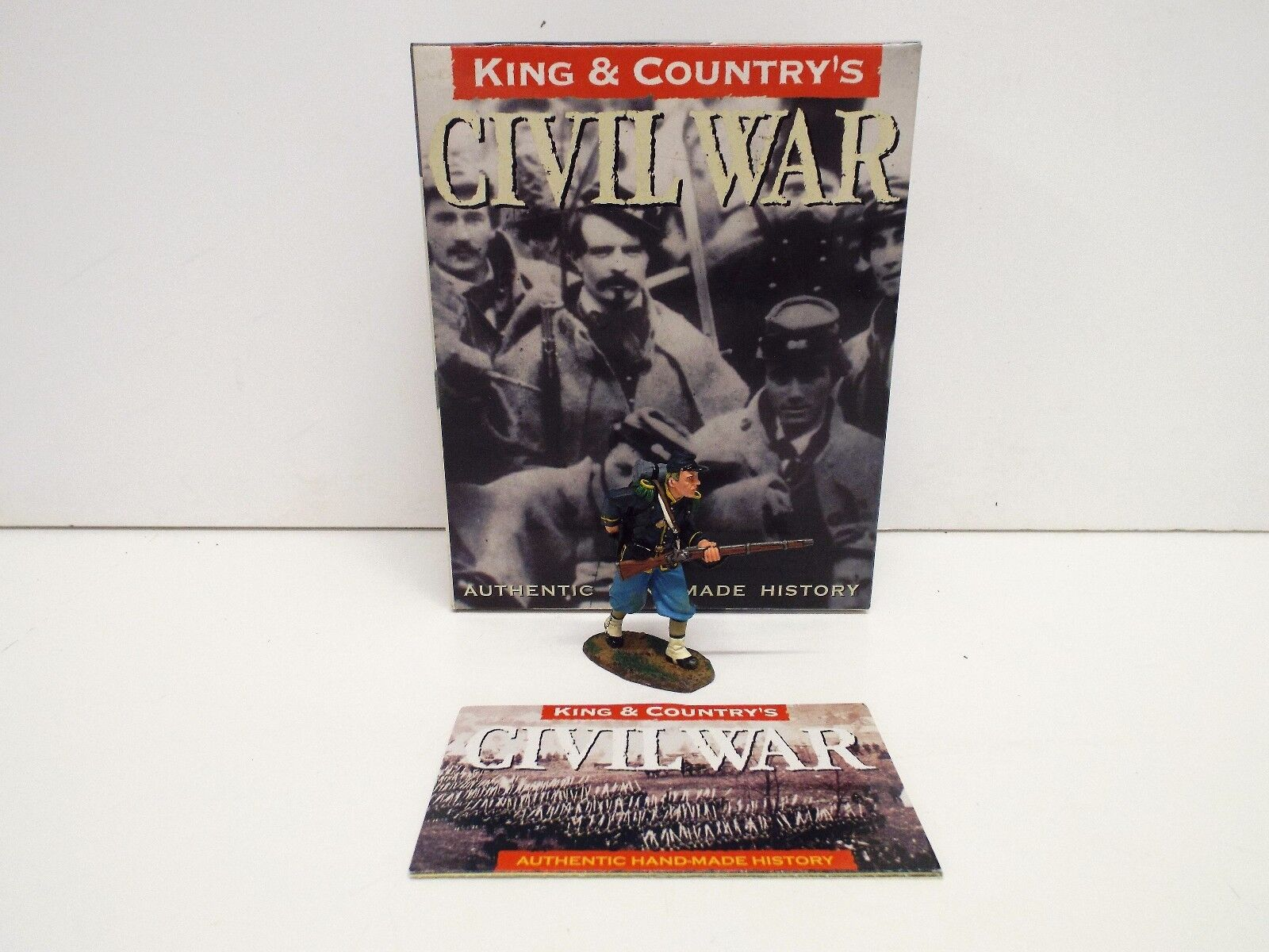 KING AND COUNTRY CW33 ACW UNION STANDING LOADING RETIRED BOXED (BS2122)