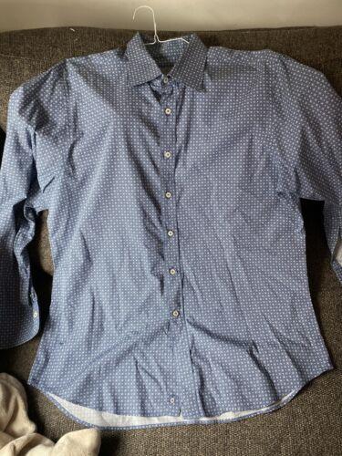 Canali Mens Dress Shirt XXL