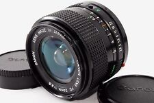 NEAR MINT Canon New FD NFD 24mm f2.8 MF Camera Lens from Japan #164931
