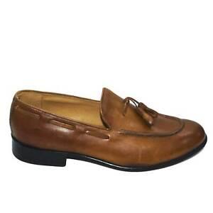 scarpe uomo mocassino nappe cuoio stile uomo classico in vera pelle fondo suola