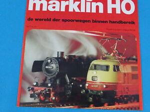 """Marklin Leaflet NL """"Wereld der spoorwegen"""" 1977 NL"""
