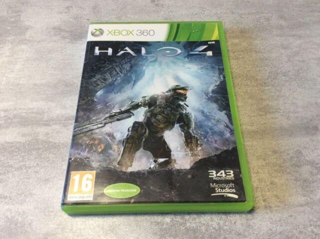 XBOX Halo 4 IV XBOX 360 MICROSOFT PAL FR EN BOITE