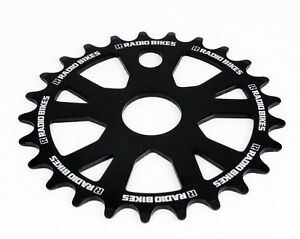 Radio-Plateau-25dts-VTT-Velo-Chemin-BMX-Bicyclette-Cyclisme-chainring-101g-Noir