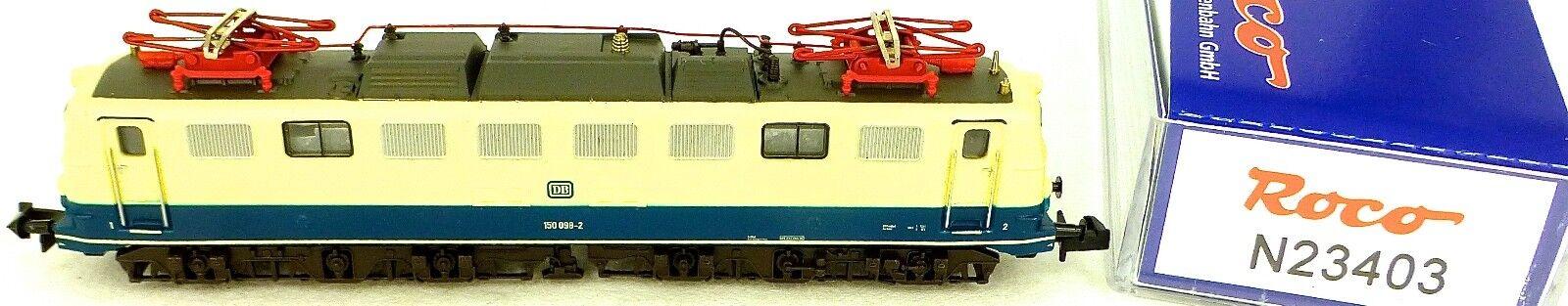 150 Locomotora Eléctrica Azul Beige DB Ep4 Roco 23403 Nuevo 1 160 N HQ2 Μ