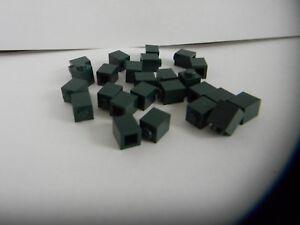 Lot of 25 Lego 1x1 Dark Green Bricks Part 3005 NEW
