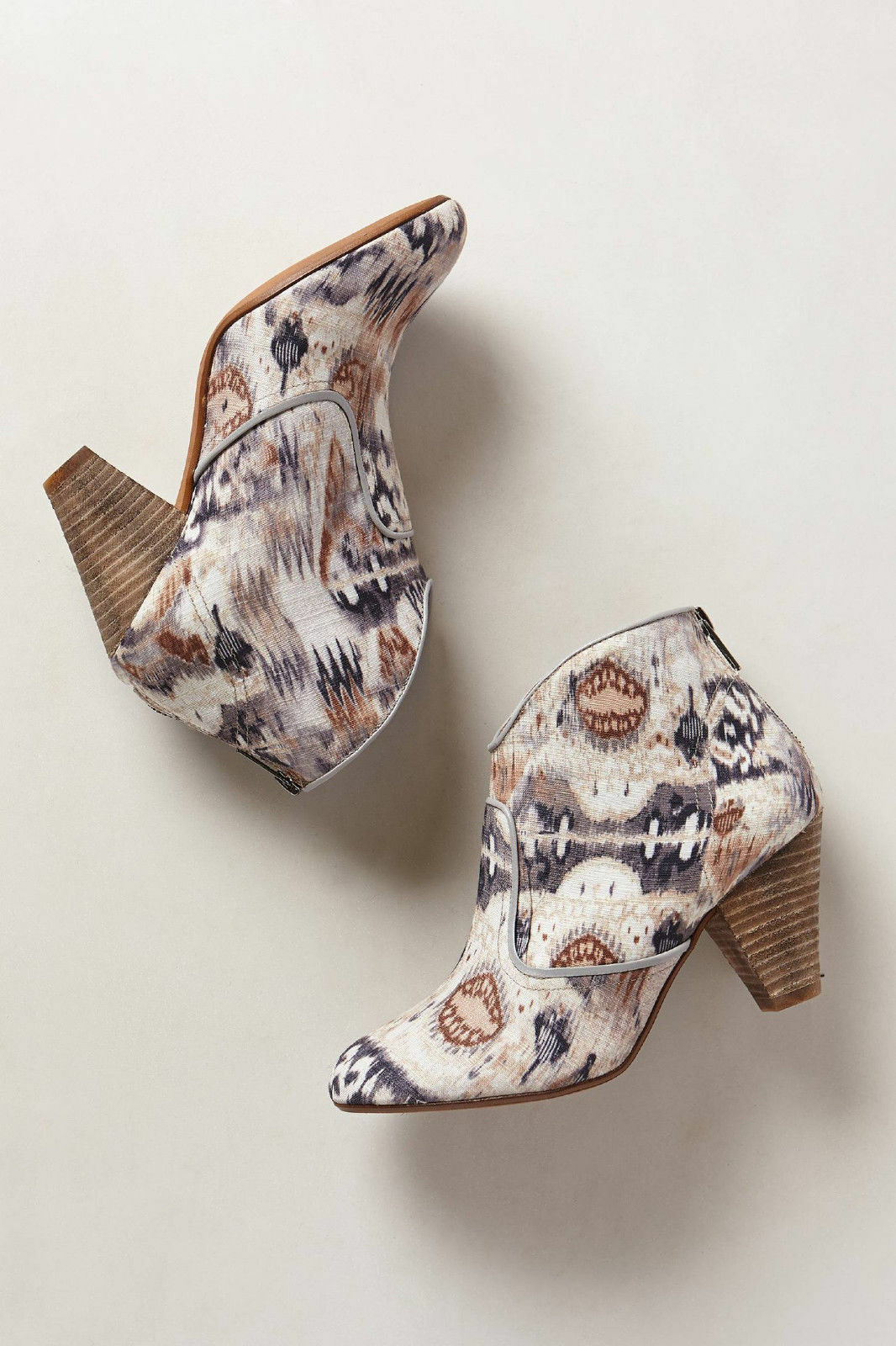 Anthropologie démarrageies Ankle bottes Highway Rambler Ikat Heels Heels Heels By 67 Collection 39 91b7a5