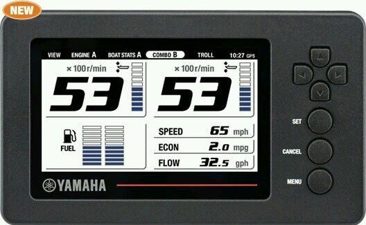 Yamaha 6yc info station command link gauge for sale online ebay - Internet multi server control panel ...