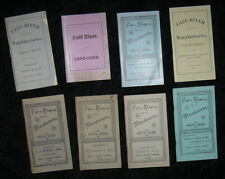 1888-1911 FALLS RIVER MA COTTON INDUSTRY LOOMS MILLS IRON MACHINERY Rare Lot