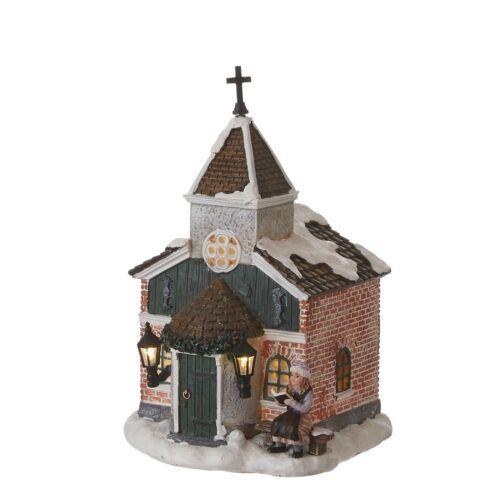 Weihnachtsdorf LUVILLE Church Small Winterdorf, Weihnachtsdeko